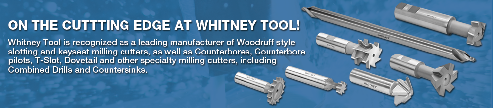 Woodruff Style Slotting, Keyseat Milling Cutters